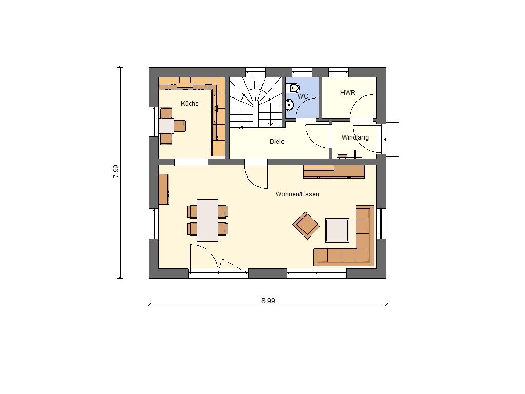 Smart Haus sorg bau gmbh unsere typenhäuser